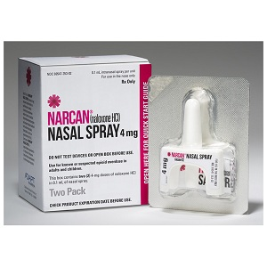 NARCAN® (Naloxone HCL) Nasal Spray – 4mg